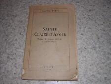 1939.sainte Claire d'Assise / Anne-Marie Bérel