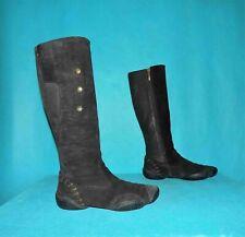 bottes MARITHE FRANCOIS GIRBAUD  cuir et daim noir p 37 fr