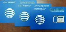 Sim Card At&T Activation 4G Lte Sim Card. Att Triple cut for Iphone & Samsung