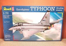 1/72 REVELL EUROFIGHTER TYPHOON DOUBLE SEATER MODEL KIT # 04621
