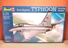 1/72 REVELL EUROFIGHTER TYPHOON DOUBLE SEATER MODEL KIT # 04621