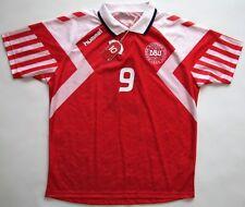 8ba1fe3ca NEW Denmark DBU 1992 Euro 92  9 Povlsen shirt soccer Hummel Trikot vintage  retro