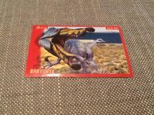 #129 Panini Dinosaurs Like Me sticker / unused / Baryonyx