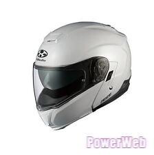 OGK KABUTO IBUKI Pearl WHITE L Large  Helmet Japanese Model