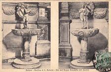 CPA ITALIE ITALY ITALIA PADOVA basilica di s. antonio pile dell'acqua benedetta