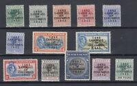 Bahamas KGVI  1942 Landfall Columbus To £1 (No 3/-) SG162/175 MHJK2106