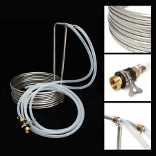 26' Stainless Steel Beer Immersion Wort Chiller Cooler Coils For Home Brew