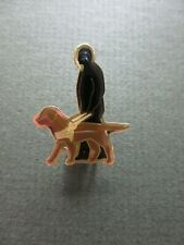 "Vintage Guide Dogs For The Blind Pin Badge 1"" High"