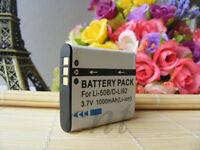 LI-50B Battery for Olympus SP-720UZ SP-800UZ SP-810UZ VR340 VR350 Digital Camera