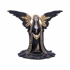 More details for teresina 28cm sculpture ornament figurine tea light candle holder by nemesis