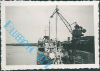 Dover Docks And Ferry M.V Prins Albert in 1938 3.5 x 2.5 inch