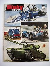 "Vintage ""Dinky Toys"" Catalog w Colored Pictures of Tanks, Jets, Space Vehicles *"