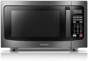 Toshiba EM131A5C-BS Microwave Oven with Smart Sensor, Black Stainless steal