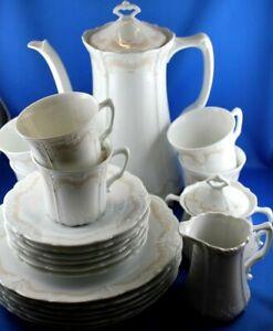 Kaffeeservice Tirschenreuth Baronesse Veronique 6 Personen
