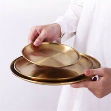 Dessert Serving Plate Round Decorative Dish Fruit Tray Wedding Birthday