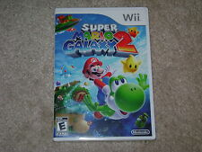 SUPER MARIO GALAXY 2...NINTENDO WII...**ORIGINAL COVER**SEALED**BRAND NEW**!!!!!