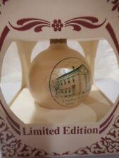 Canton Ma Gridley School Bicentennial ornament free domestic ship/ins 170045