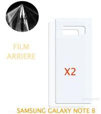 Lot 2 Films Protection arrière Entier Pour Écran Incurvé Samsung Galaxy NOTE 8
