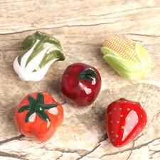 5PCS Vegetable fruit Kid's knob Kitchen Cupboard Cabinet Wardrobe Door Handle