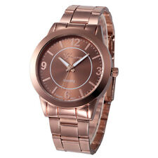 Women Stainless Steel Sport Quartz Hour Wrist Analog Watch Geneva Wristwatch Hot