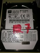 Toshiba 15GB IDE 2.5 Laptop Hard Disk Drive HDD MK1516GAP