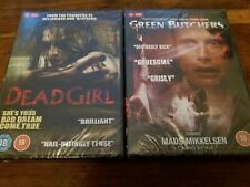 Dead Girl & Green Butchers UK R2 DVD R18 Horror Collection New Factory Sealed