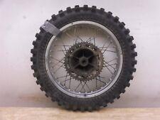 1979 Yamaha IT250 IT 250 Enduro Y487-1> rear wheel rim hub drum sprocket 18in