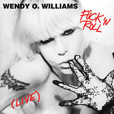WENDY O WILLIAMS of PLASMATICS New Sealed 2018 F*CK & ROLL COLORED VINYL RECORD
