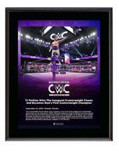 Inaugural Cruiserweight Classic Plaque Championship WWE TJ Perkins Frame Framed