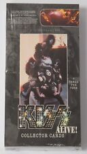 KISS ALIVE! TRADING CARDS SEALED 36 PACK BOX 2001