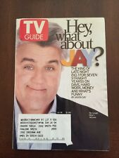 TV Guide April 13-19, 2002 Jay Leno, The Tonight Show, MTV's Real World