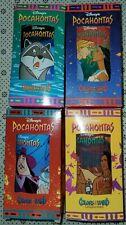 Disney Pocahontas Color Of The Wind Cups Glasses Nib. Set Of 4 Burger King