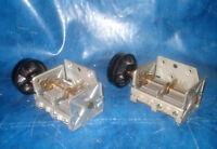 zwei 2-fach Drehkondensator mit Seilrad 6.ruf Siemens H64