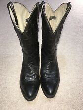 Buitre Handmade Alligator Leather Cowboy Boots M 8.5 W10 Exotic Skin EU 42 MX 27