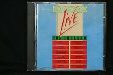 Live For Ireland - U2, The Pogues, Boomtown Rats, Thin Lizzy - CD  (C884)