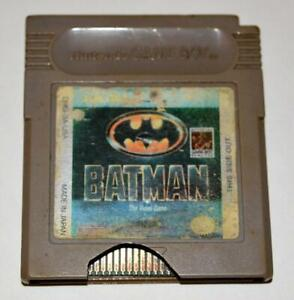 ** DISCOUNTED- BATMAN: THE VIDEO GAME ORIGINAL NINTENDO GAMEBOY GB GAME