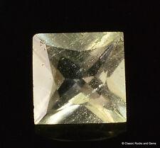 Libyan Desert Glass AAA Faceted Gem Cut Meteorite Impactite 0.85 ct 6.1 mm