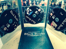 BILLY Bailey Dylan Moran NERO Libri COMPLETO 1 2 3 ~ CULT SERIE TV UK DVD Set