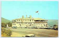 late 1950s image vintage chrome postcard Grand View Ship Hotel US 30 Bedford PA