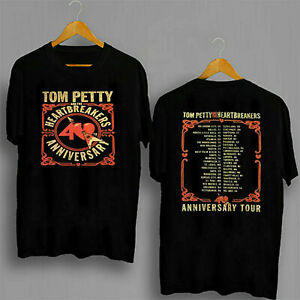New Gildan Tom Petty Shirt Heartbreakers 40th Anniversary Tour