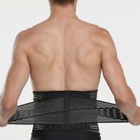 Einstellbare doppelte Lordosenstütze Rückengurt Schmerzlinderung Pain relief