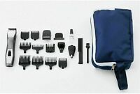 Wahl Hair Clippers Shaver Cutting Kit Power Trimmer 14 in 1 Chromium Multi Groom
