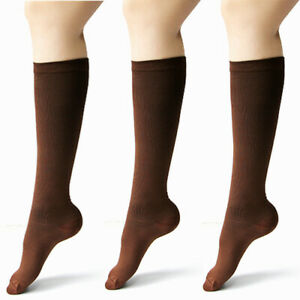 1-5Pairs Compression Socks Pain Relief 18-21mmHg Stocking Graduated Support 5-11