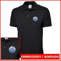 Camiseta Polo Hombre bordado Logo Alpine embroidery logo polo tshirt f1 Alonso