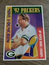 Mike Holmgren Green Bay Packers Fox Valley Metro 2 of 20 '97 Packers Card