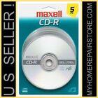 US SELLER  FREE S H   MAXELL   CD-R   48X   700 MB   80 MIN   BLANK CD   5 PACK