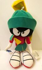 """1994 New Applause Warner Brothers Looney Tunes 14"""" Marvin The Martian Plush NWT"""