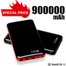 Portable 900000mAh 2USB Power Bank LED External Backup Battery Fast Charger 2020