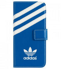 adidas Originals Flip Case für iPhone 5c Blau/weiß