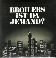 "BROILERS ""Ist da jemand"" 1 Track Limited + Numbered 7 Inch VINYL Nummer 0350"